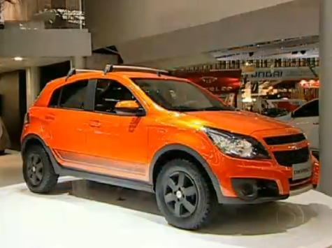 Imcdb 2010 Chevrolet Agile Crossport In Auto Esporte 2000 2018