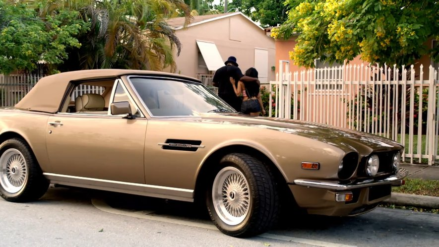 Imcdb Org 1986 Aston Martin V8 Volante In Rick Ross Aston Martin Music 2010