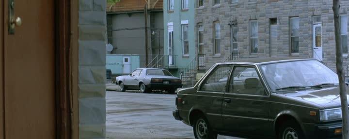 1985 Nissan Sentra B11 In The Bedroom Window 1987