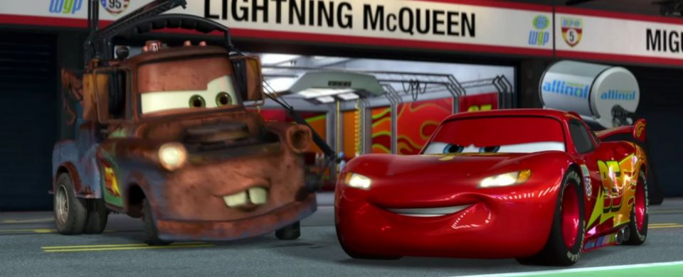 Made for Movie NASCAR 'Lightning McQueen'