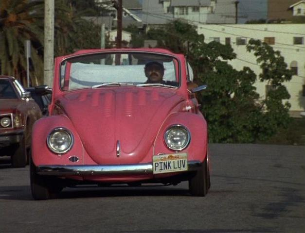 """IMCDb.org: 1968 Volkswagen Convertible 'Beetle' [Typ 1] in """"Born in East L.A., 1987"""""""