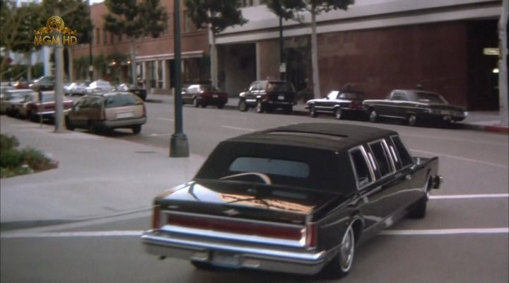 1981 Lincoln Town Car Stretched Limousine