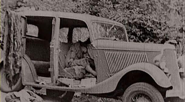 Bonnie clyde v8 ford Clyde Barrow's