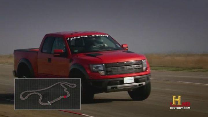 Ford Raptor Hennessey VelociRaptor Top Gear