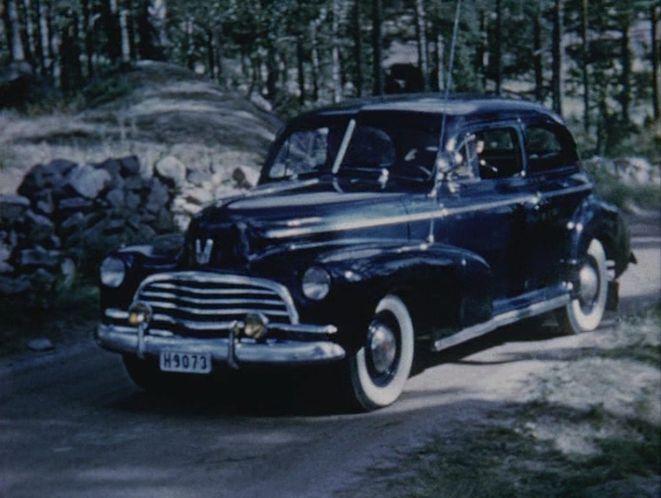 Imcdb Org 1946 Chevrolet Stylemaster Town Sedan 1502 In Quot Blindbock