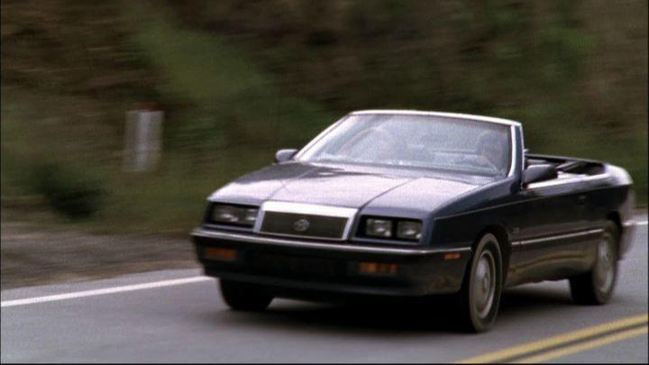89 chrysler lebaron convertible