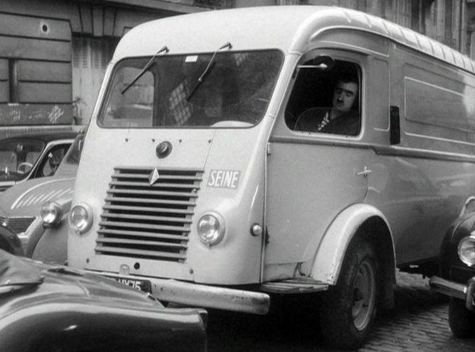 1955 renault 1000 kg fourgon t l r2065 in heureux anniversaire 1962. Black Bedroom Furniture Sets. Home Design Ideas