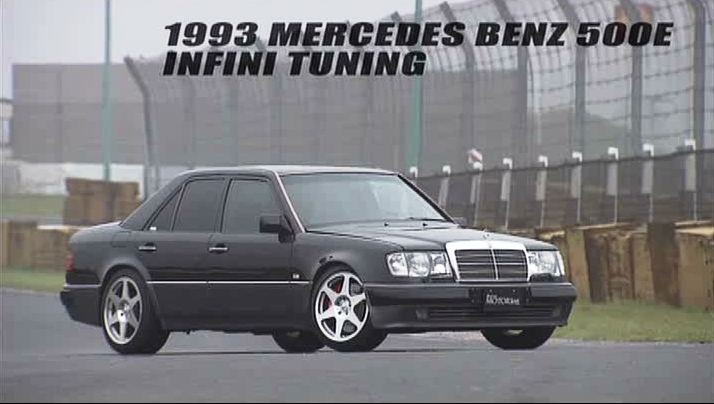 1993 mercedes benz 500 e infini tuning w124 for Mercedes benz w124 tuning