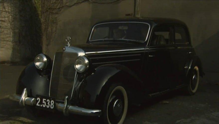 1949 mercedes benz 170 s w136 iv in spy for 1949 mercedes benz