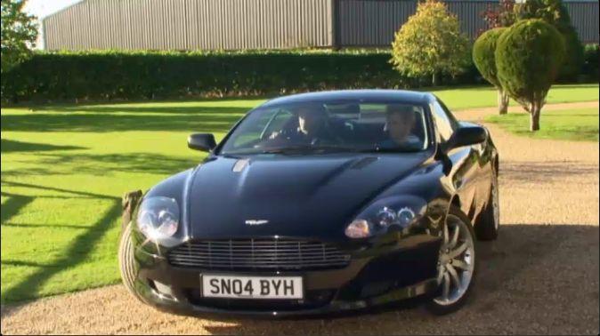 IMCDborg Aston Martin DB In Footballers Wives - 2004 aston martin db9