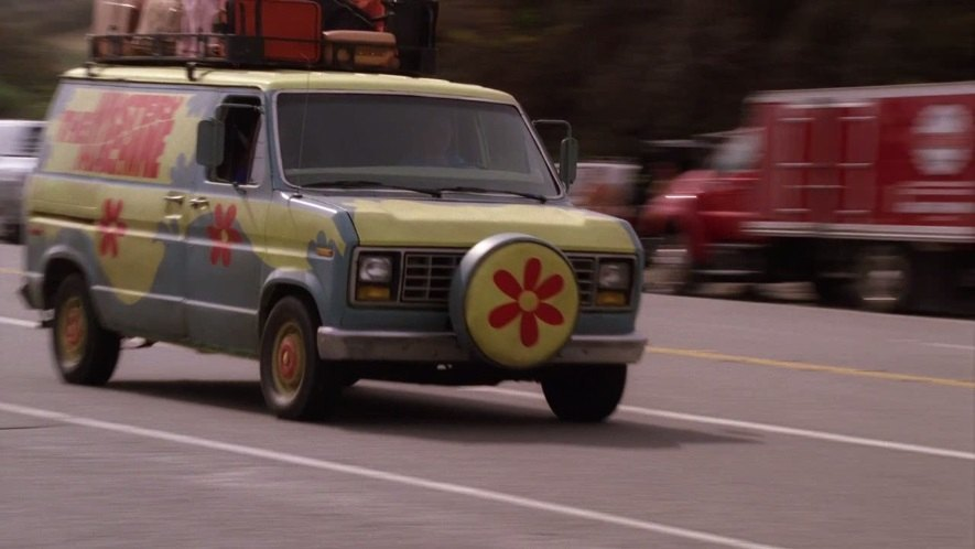 """IMCDb.org: 1983 Ford Econoline in """"Scooby-Doo! Curse of ..."""