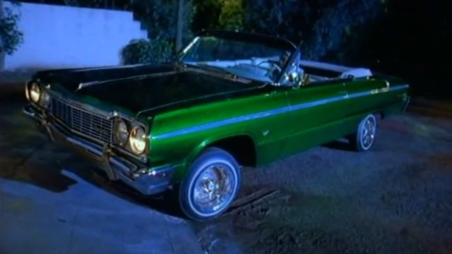 Ice Cube Today Was A Good Day Car or in a car chase