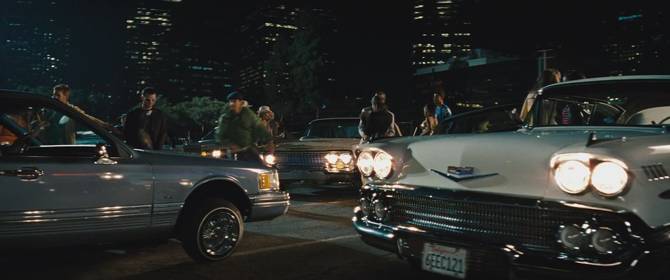 1990 lincoln town car in the green hornet 2011. Black Bedroom Furniture Sets. Home Design Ideas