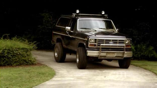 1982 ford bronco xlt in the vampire diaries. Black Bedroom Furniture Sets. Home Design Ideas