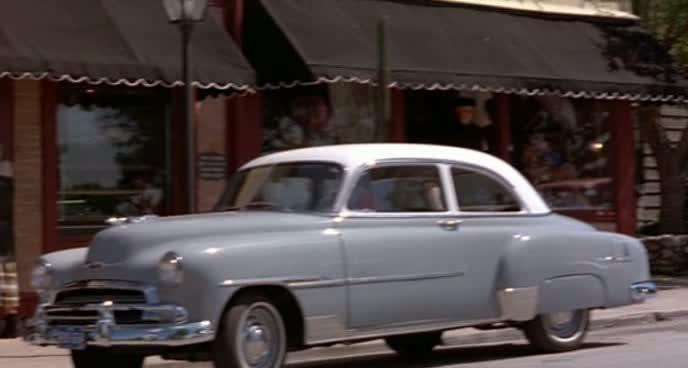 1951 chevrolet styleline de luxe two door sedan for 1951 chevy 2 door coupe