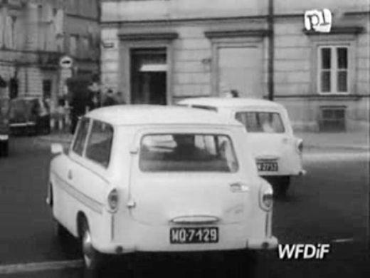 1963 trabant 600 kombi p60 in polska kronika. Black Bedroom Furniture Sets. Home Design Ideas