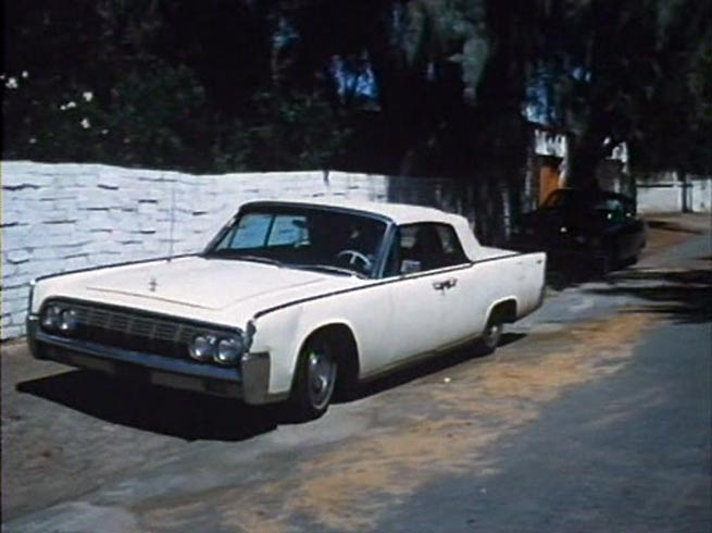1964 lincoln continental in death dimension 1978. Black Bedroom Furniture Sets. Home Design Ideas
