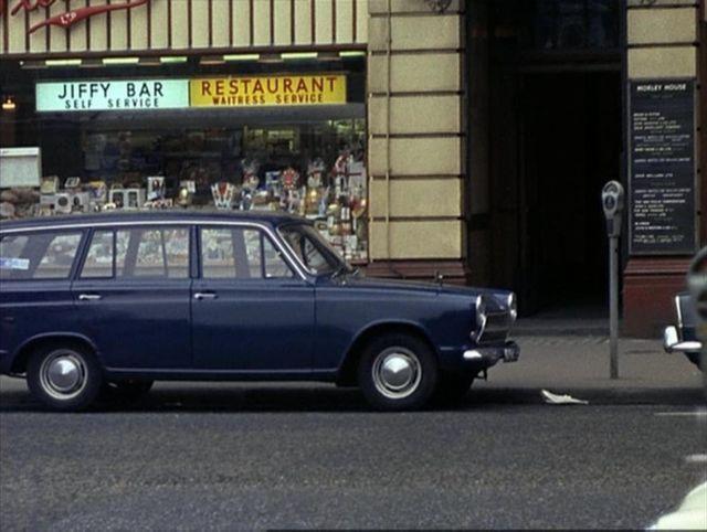 Ford Cortina Estate Model Car