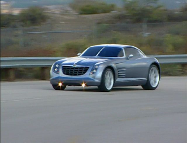 Imcdb 2001 Chrysler Crossfire Concept Car In Extreme Concept