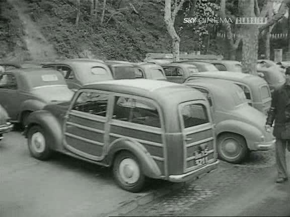 """imcdb: 1949 fiat 500 c giardiniera belvedere in """"la domenica"""