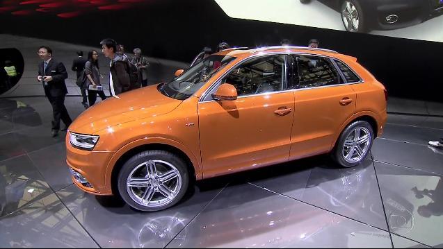 IMCDb.org: 2011 Audi Q3 2.0 TFSI quattro S line [Typ 8U] in