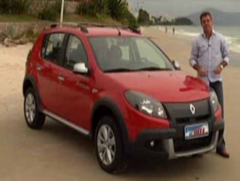 Photo Sandero Stepway Renault on Imcdb Org  2012 Renault Sandero Stepway  B90  In  Vrum  2009 2013