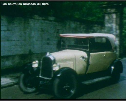1927 Citro�n B14 Torp�do Cabriolet 3 Places