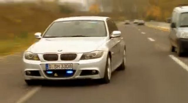 2009 bmw 330i m paket e90 in alarm f r cobra. Black Bedroom Furniture Sets. Home Design Ideas