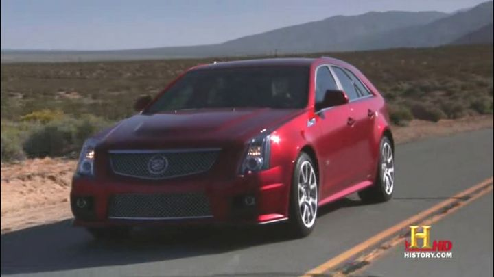 2011 cadillac cts v sport wagon in top gear usa 2010 2016. Black Bedroom Furniture Sets. Home Design Ideas