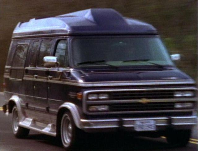 "IMCDb.org: 1994 Chevrolet Chevy Van in ""Walker, Texas ..."