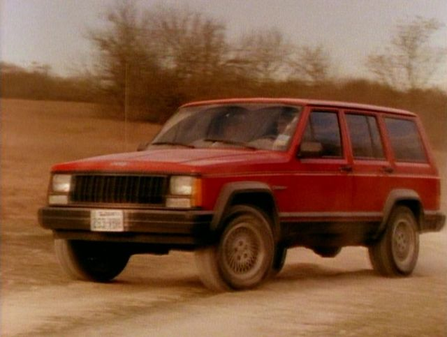 Imcdb Org  1993 Jeep Cherokee Sport  Xj  In  U0026quot Walker  Texas