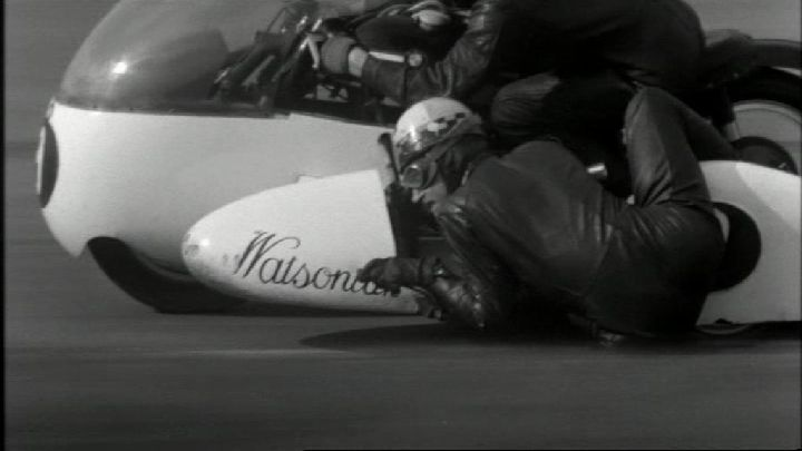 BMW unknown Watsonian sidecar racer