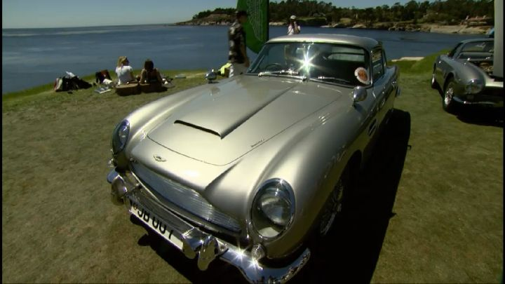 Aston Martin DB5 Goldfinger Movie Car
