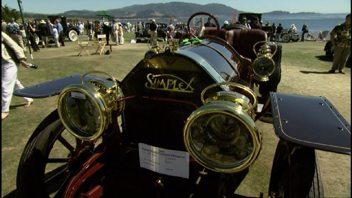 1908 Simplex Model 50 Speed Car
