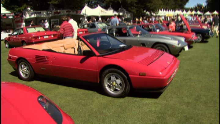 1989 ferrari mondial t cabriolet in cars tv. Black Bedroom Furniture Sets. Home Design Ideas