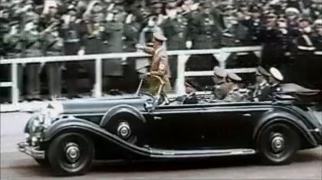 Mercedes benz 770 k w07 in world war ii in for Mercedes benz 770