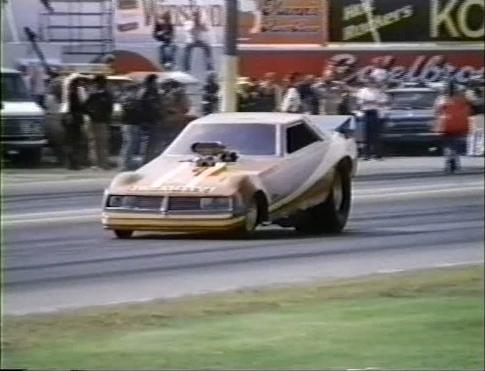 Custom Made Funny Car with 1978-1979 Dodge Challenger shell