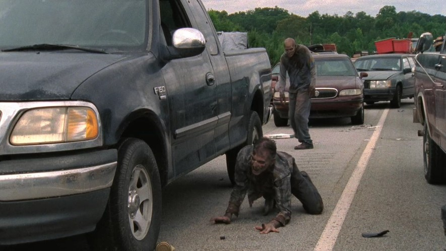 "imcdb: 1999 ford f-150 supercab xlt in ""the walking dead, 2010-2018"""