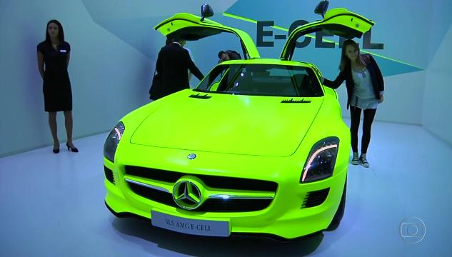 2011 Mercedes-Benz SLS AMG E-Cell [C197]