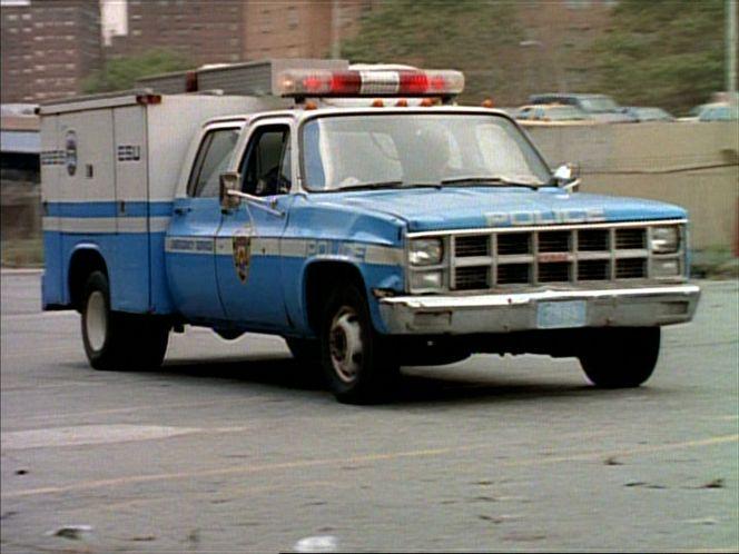 "IMCDb.org: 1981 GMC C-3500 Sierra Crew Cab in ""NYPD Blue ..."