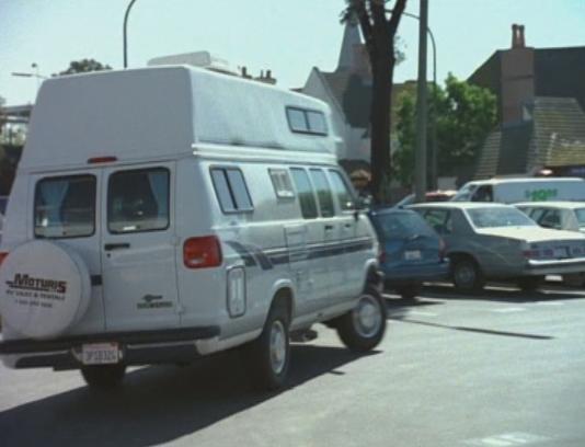 Imcdb Org 1996 Dodge Ram Van Maxivan 3500 In Tidal Wave No Escape 1997