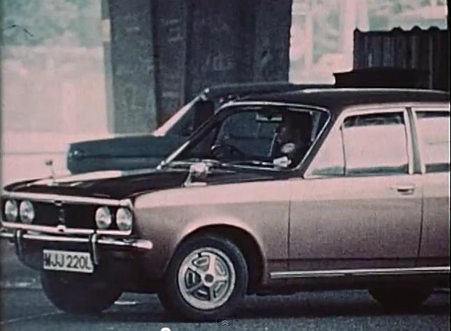 1973 Hillman Avenger Gt In Car Surveillance 1974