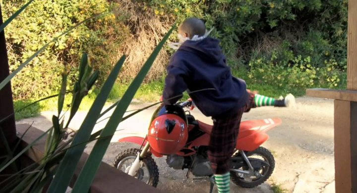 """IMCDb.org: 2003 Honda XR 50 R in """"Zeke and Luther, 2009-2012"""""""