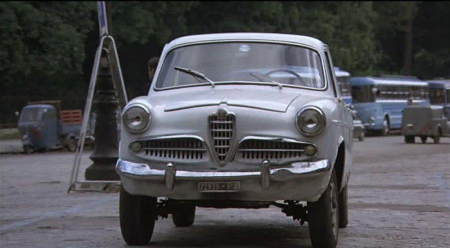 Imcdb 1955 Alfa Romeo Giulietta Berlina 1a Serie 750c In A