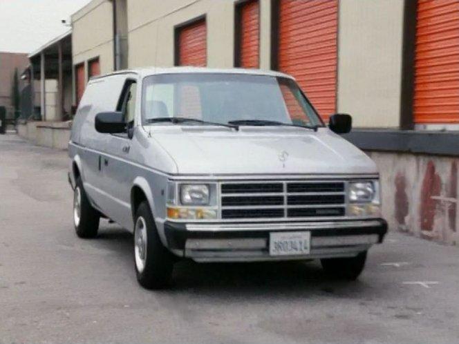 IMCDb org: 1988 Dodge Mini Ram Van in