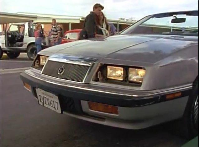 Imcdb Org 1991 Chrysler Lebaron Convertible In Quot Sweet