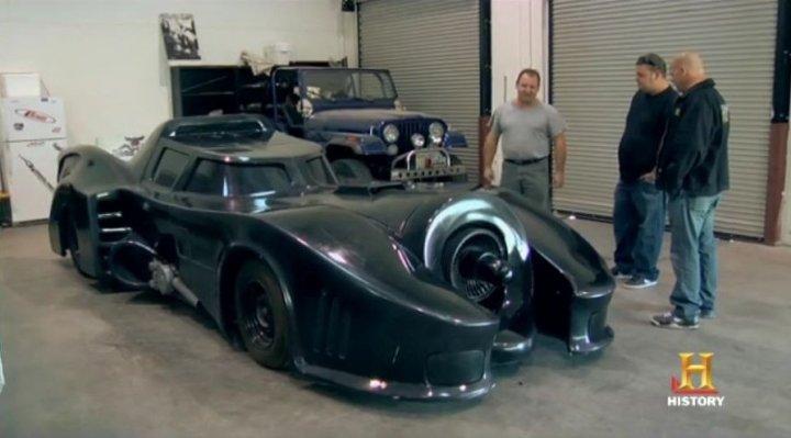 Kit Cars Batmobile Custom Car Batmobile