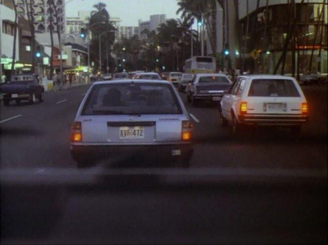 IMCDborg 1982 Nissan Sentra Wagon B11 in Magnum PI 19801988