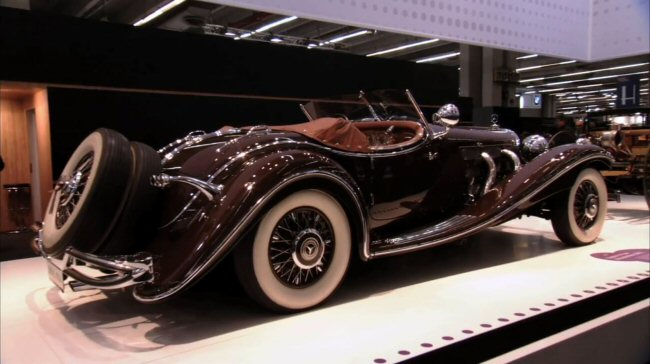 1938 Mercedes-Benz 500 K Roadster [W29]