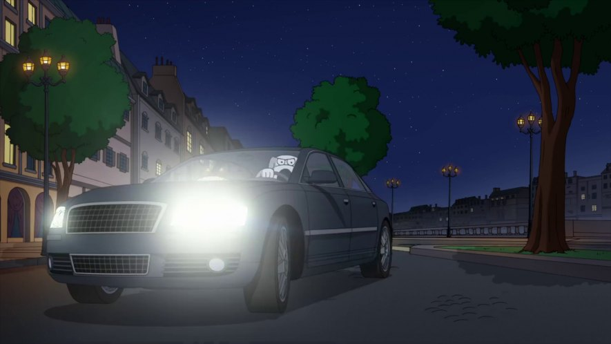 "IMCDb.org: 2003 Audi A8 D3 [Typ 4E] in ""Family Guy, 1999-2018"""